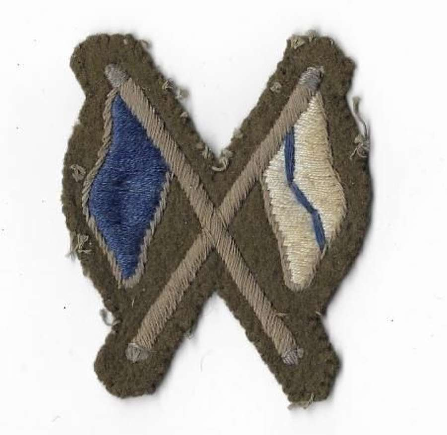 Original WW2 British Army Signaller Trade Badge
