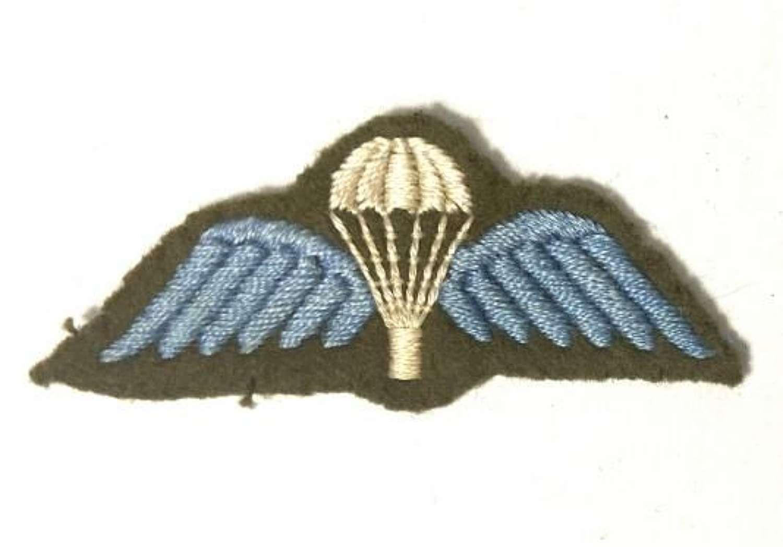 Original British Army Parachute Qualification badge