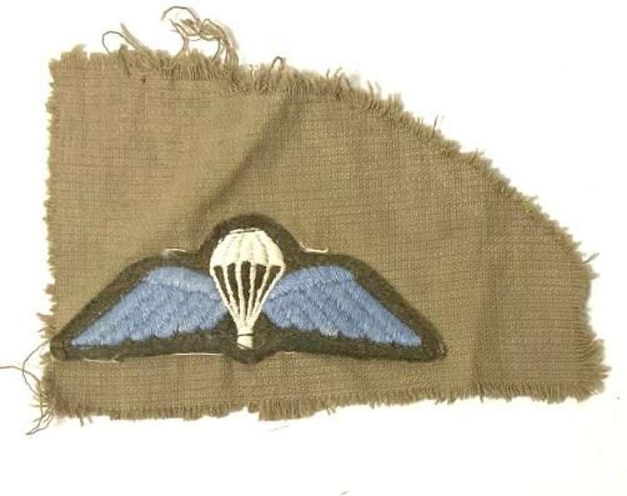 Original 1950s British Army Parachute Qualification Badge