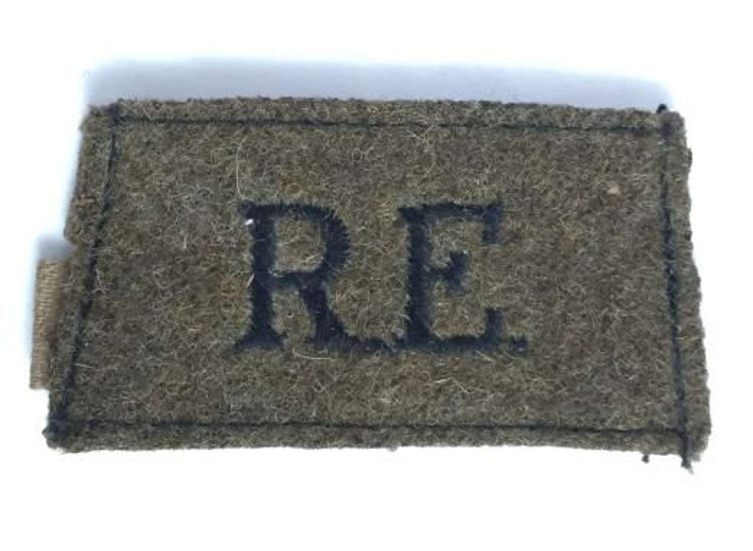 Original WW2 Royal Engineers Cloth Shoulder Title