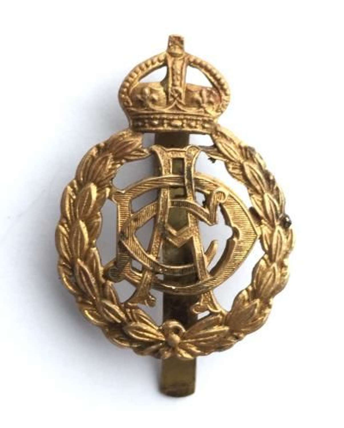 Original Kings Crown Army Dental Corps Cap Badge
