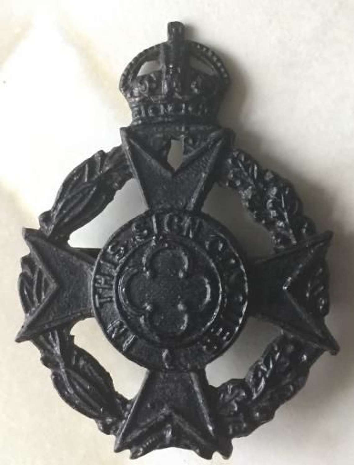 Royal Army Chaplin Department Cap Badge