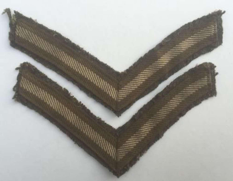 Great War Austerity Pattern Lance Corporal Stripes
