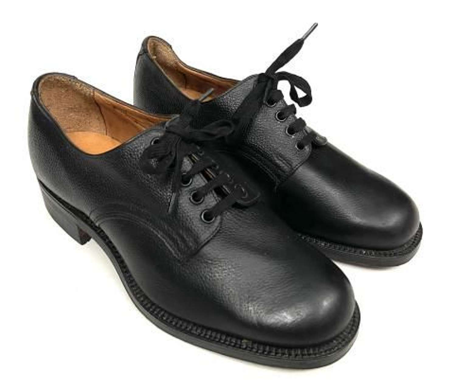 Original 1952 Dated Women's Issue Shoes by 'John Cave' - Size 4