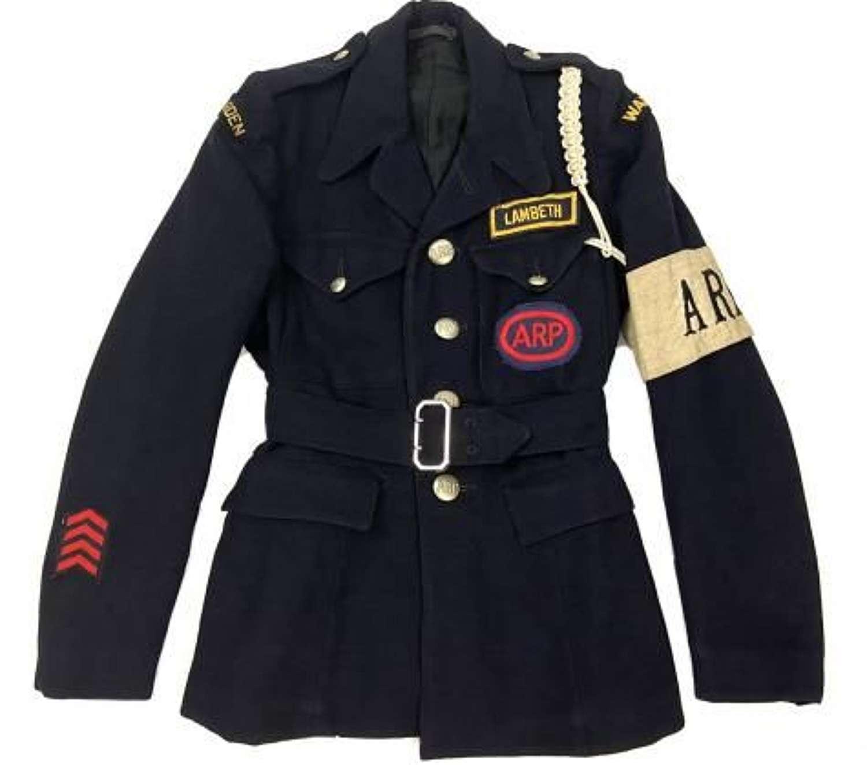 Fantastic Original 1944 Dated Women's Civil Defence A.R.P Four Pocket