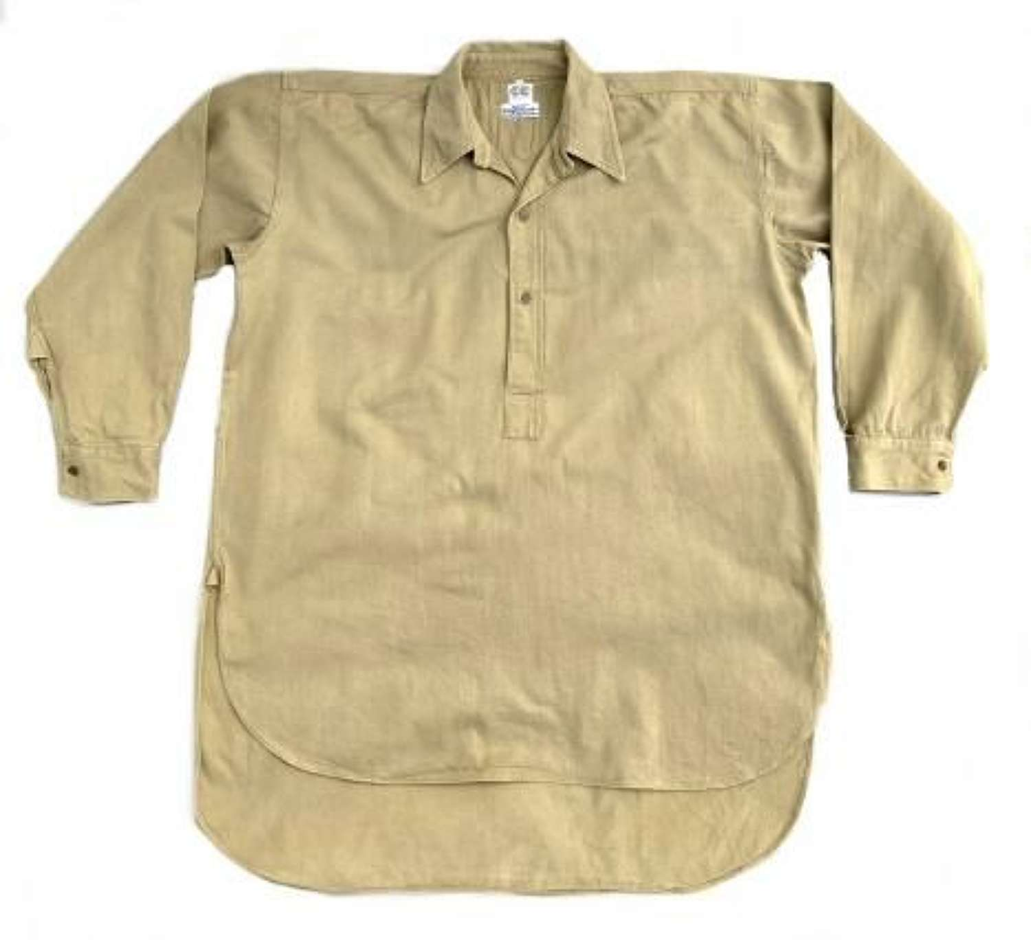 Original 1940s CC41 Utility Work Shirt - Large Size!