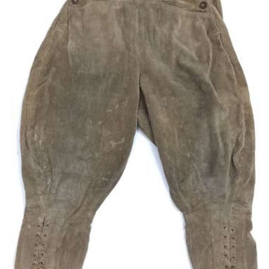 Original 1945 Dated Women's Land Army Breeches
