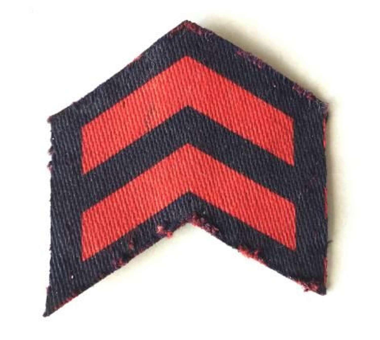 Civil Defece or Fire Guard Service Chevron