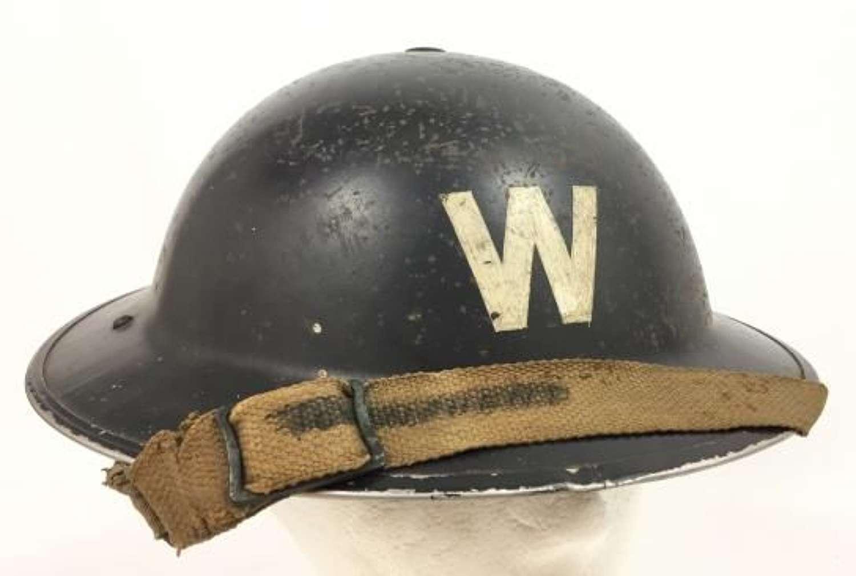 1939 Dated ARP Warden Helmet