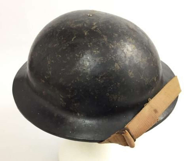 Rare WW2 Factory Workers Plastic Helmet