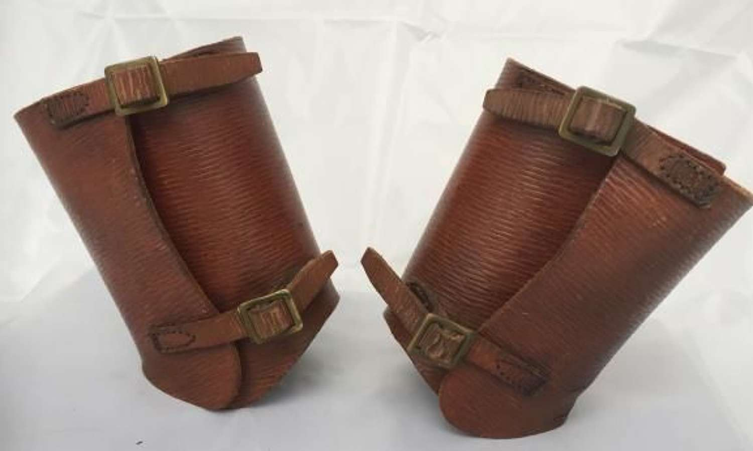 Leather 1939 Pattern Ankelts as used by the Home Guard