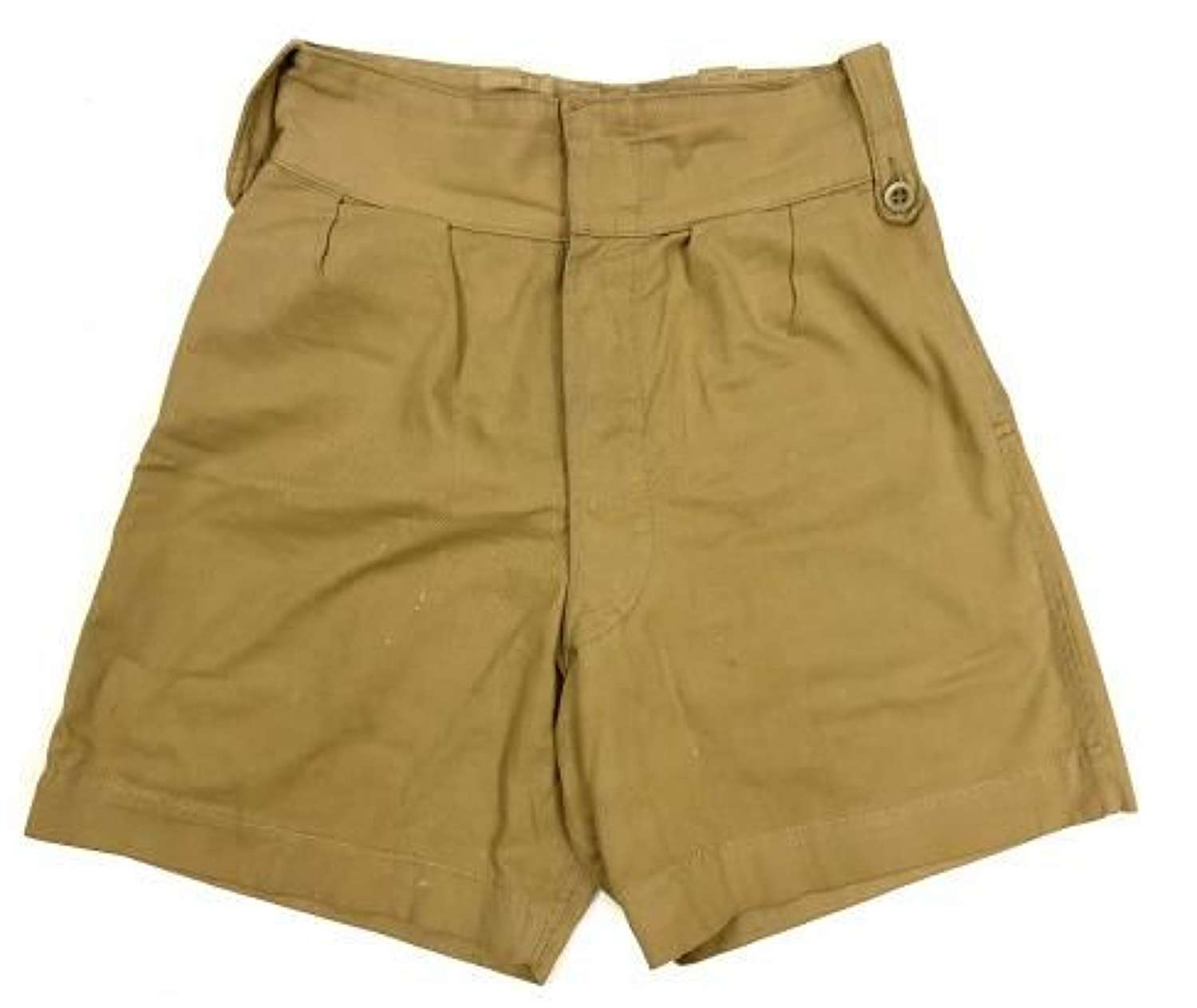 Original 1950s British Made Khaki Drill Shorts