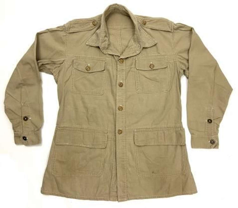 Original British 1950 Pattern Khaki Drill Bush Jacket