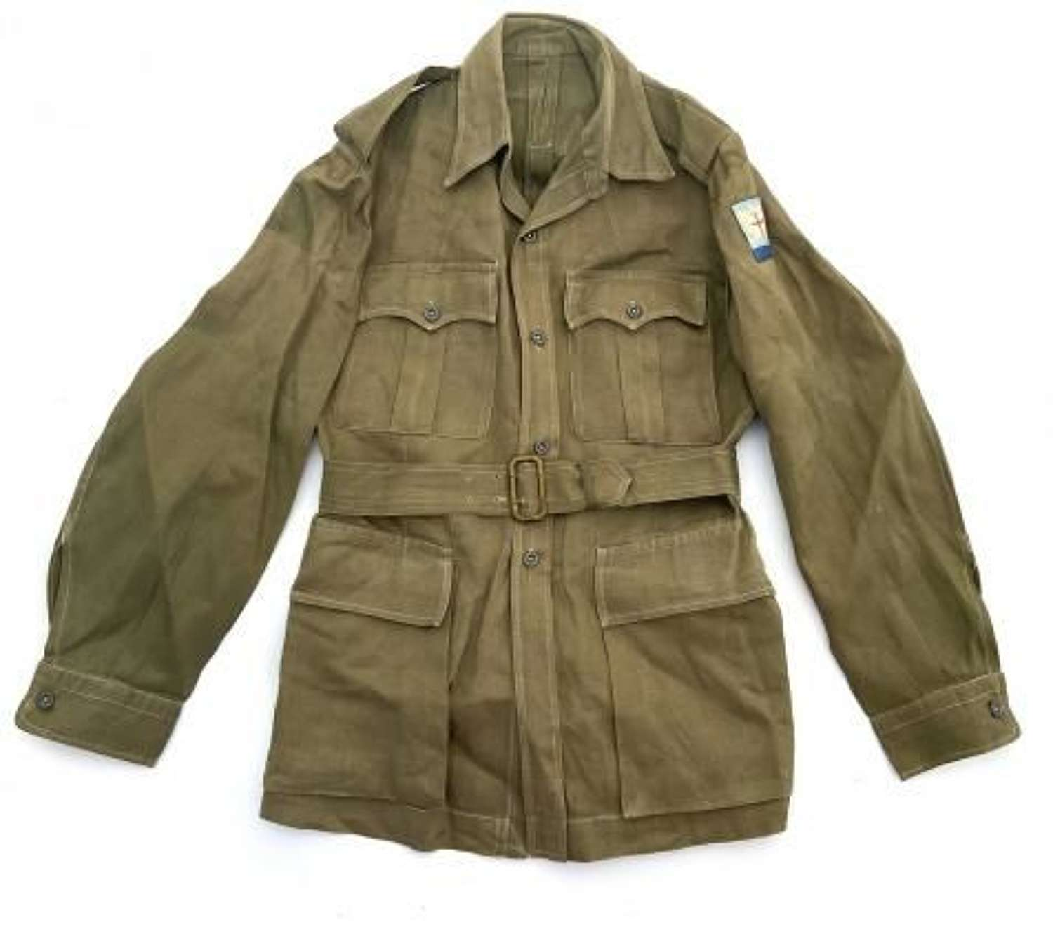 Original British Jungle Green Bush Jacket - Allied Land Forces South East Asia