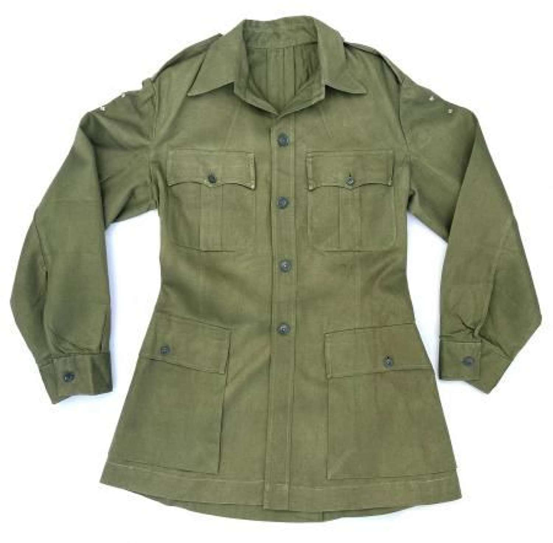 Original 1950s Theatre Made Jungle Green Bush Jacket