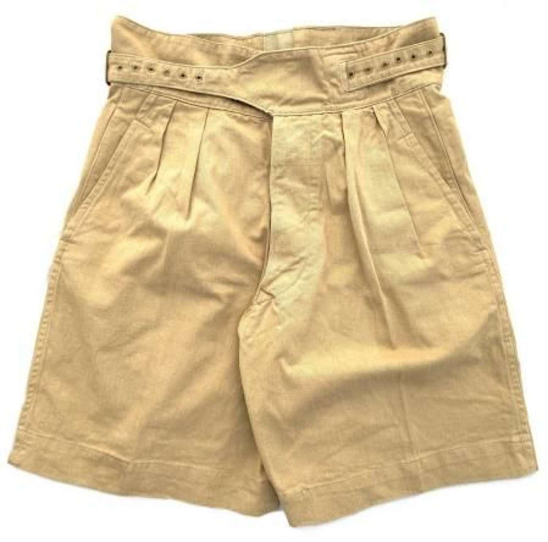 Original 1950 Patten Khaki Drill Shorts