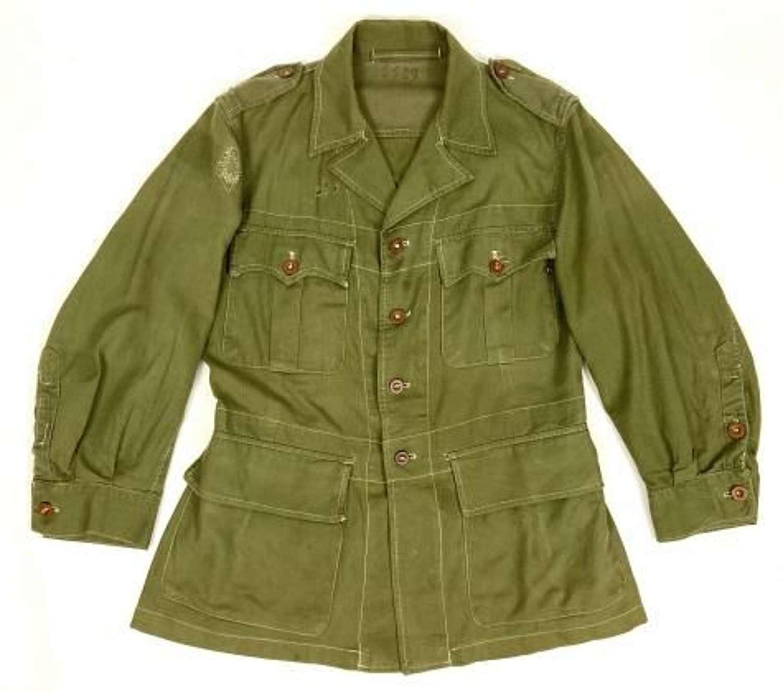 Original 1951 Dated Jungle Green Bush Jacket - Size 6
