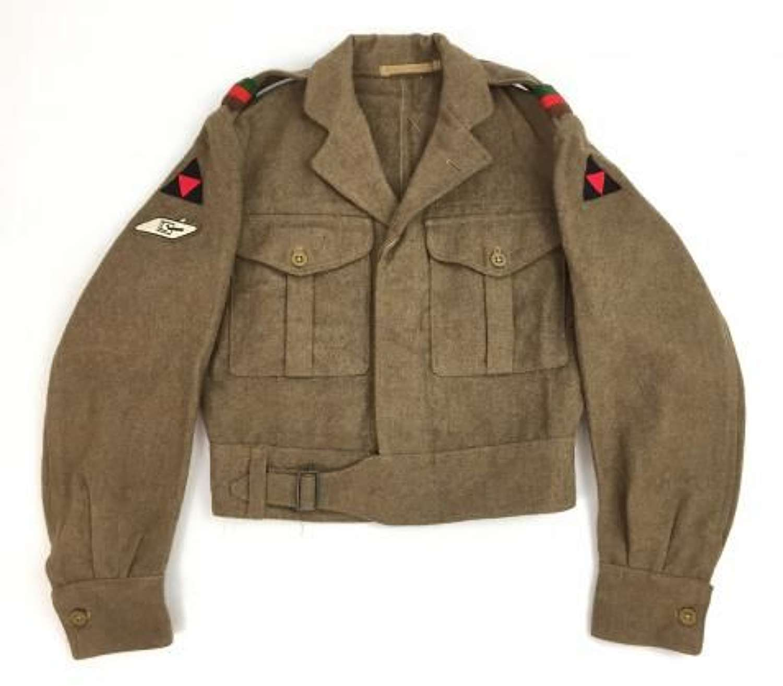 Original 1955 Dated Royal Tank Regiment Battledress Blouse