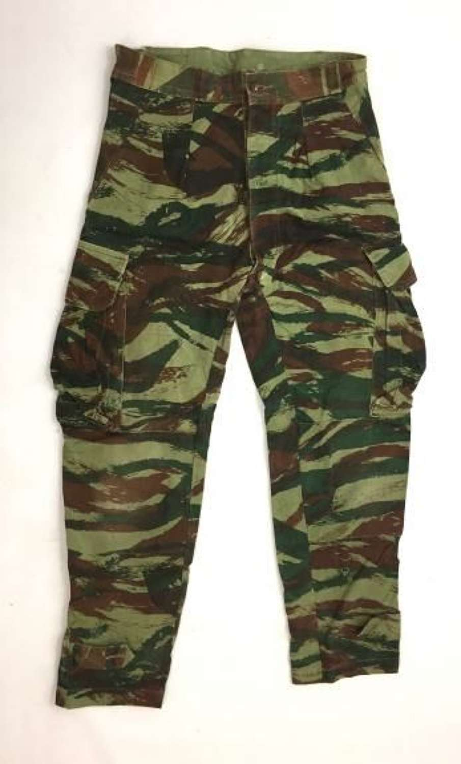 Orignial French 1950s Lizard Camouflage Trousers
