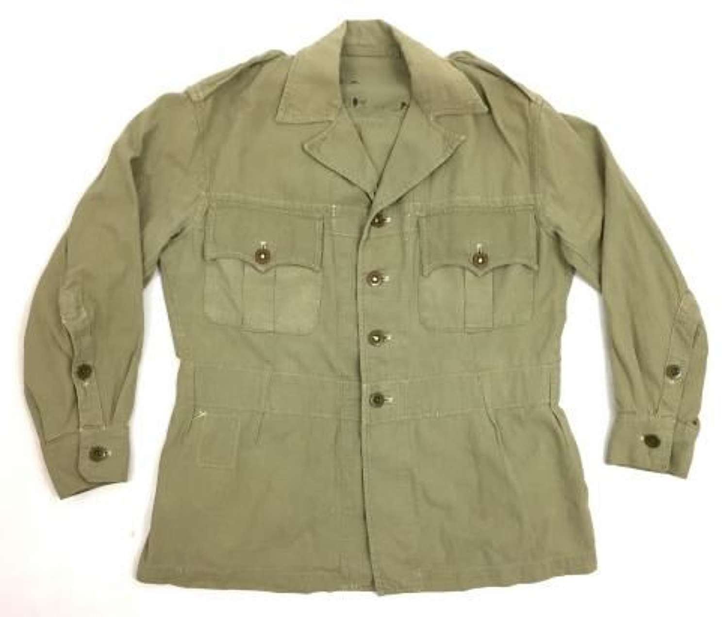 Original 1953 Dated 1950 Pattern Khaki Drill Bush Jacket