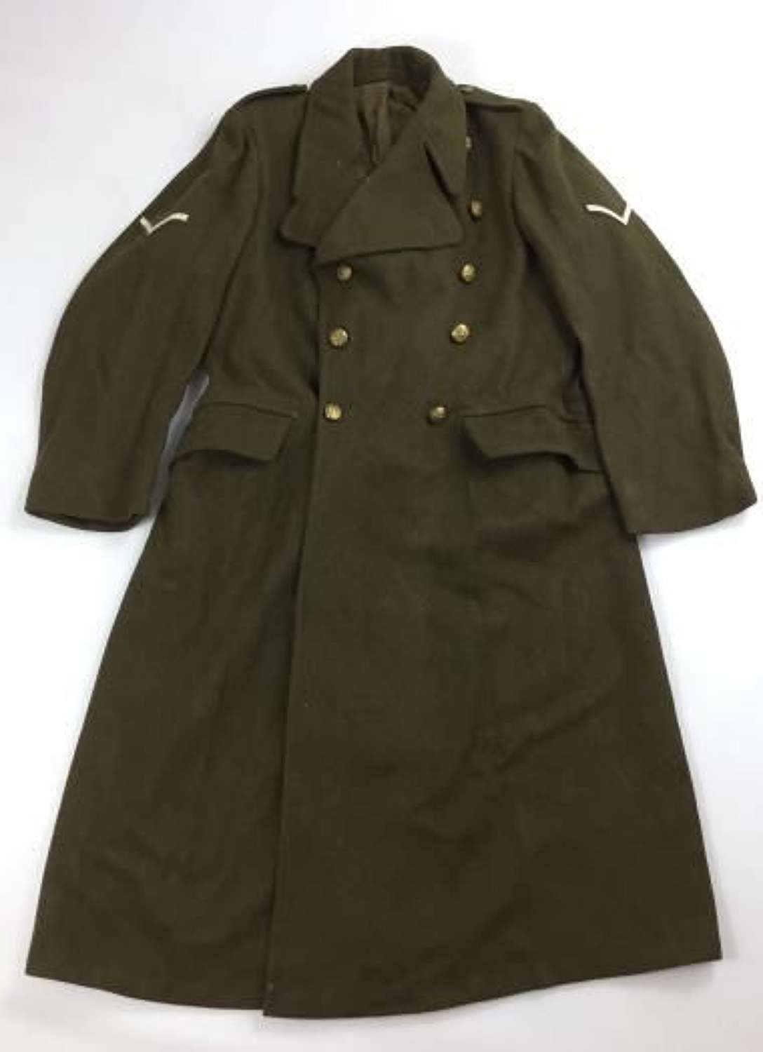 Origina 1955 Dated Greatcoat, Dismounted, 1951 Pattern - Size 9