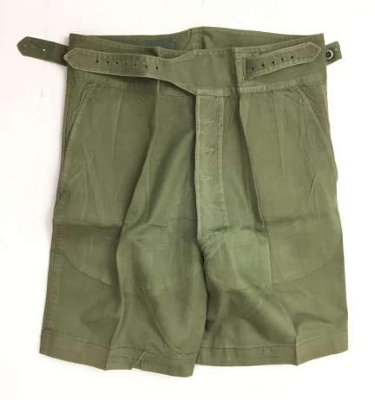 Original 1957 Dated 1950 Pattern Jungle Shorts (2)