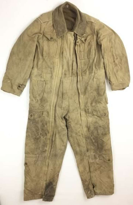 Original 1954 Dated British Army Tank Suit