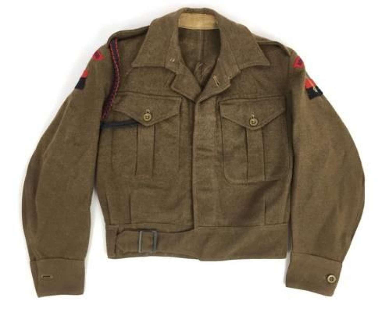 Original Royal Engineers 1946 Pattern Battledress Blouse Dated 1947