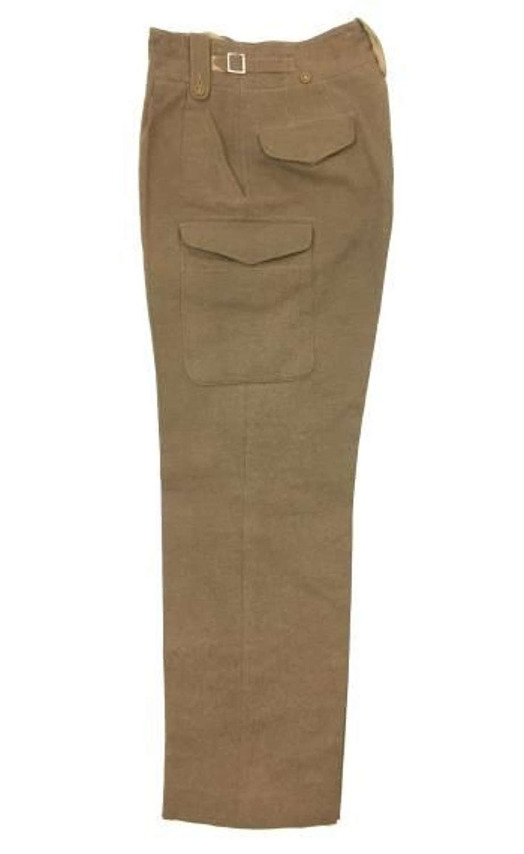 Original 1949 Pattern Battledress Trousers - Heavily Tailored