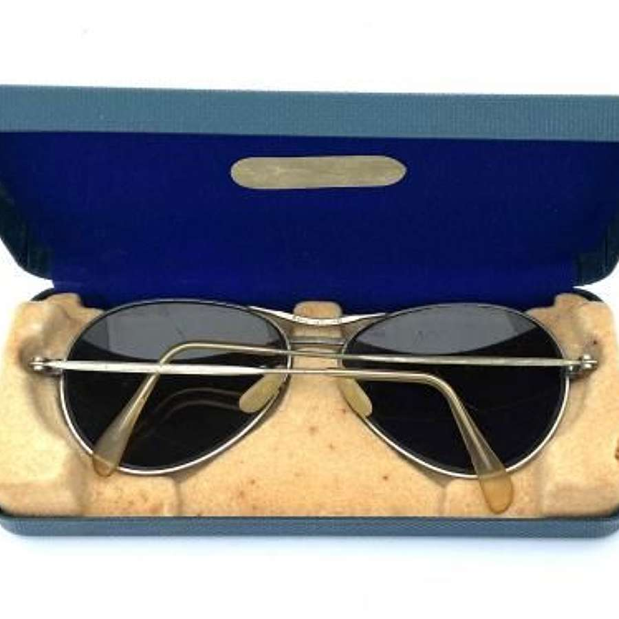 Original 1950s RAF Spectacles MK 14 + Case