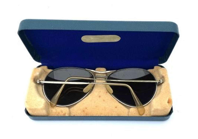 Original 1950s RAF Spectacles MK 14 + Case