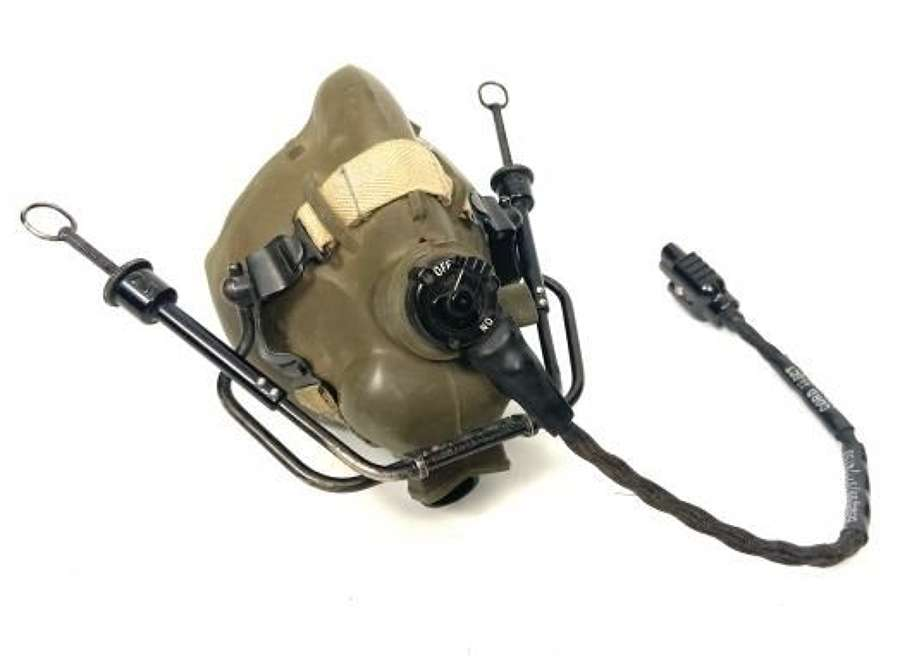 Original 1971 Dated RAF H Type Oxygen Mask - Size Large