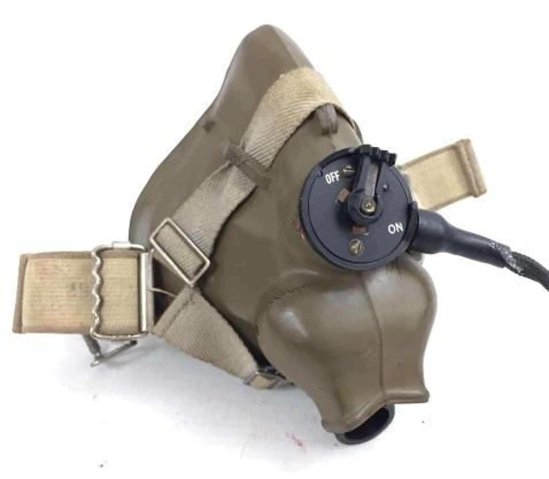 Original 1954 Dated RAF H-Type Oxygen Mask - Size Medium