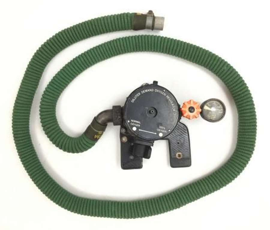Original Diluter Demand Oxygen Regulator and Hose