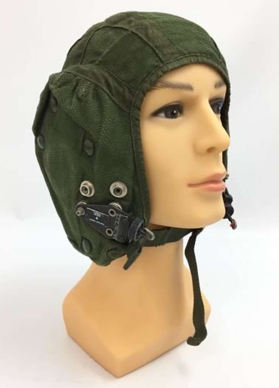 1970 Dated RAF G Type Cloth Flying Helmet - Size 2