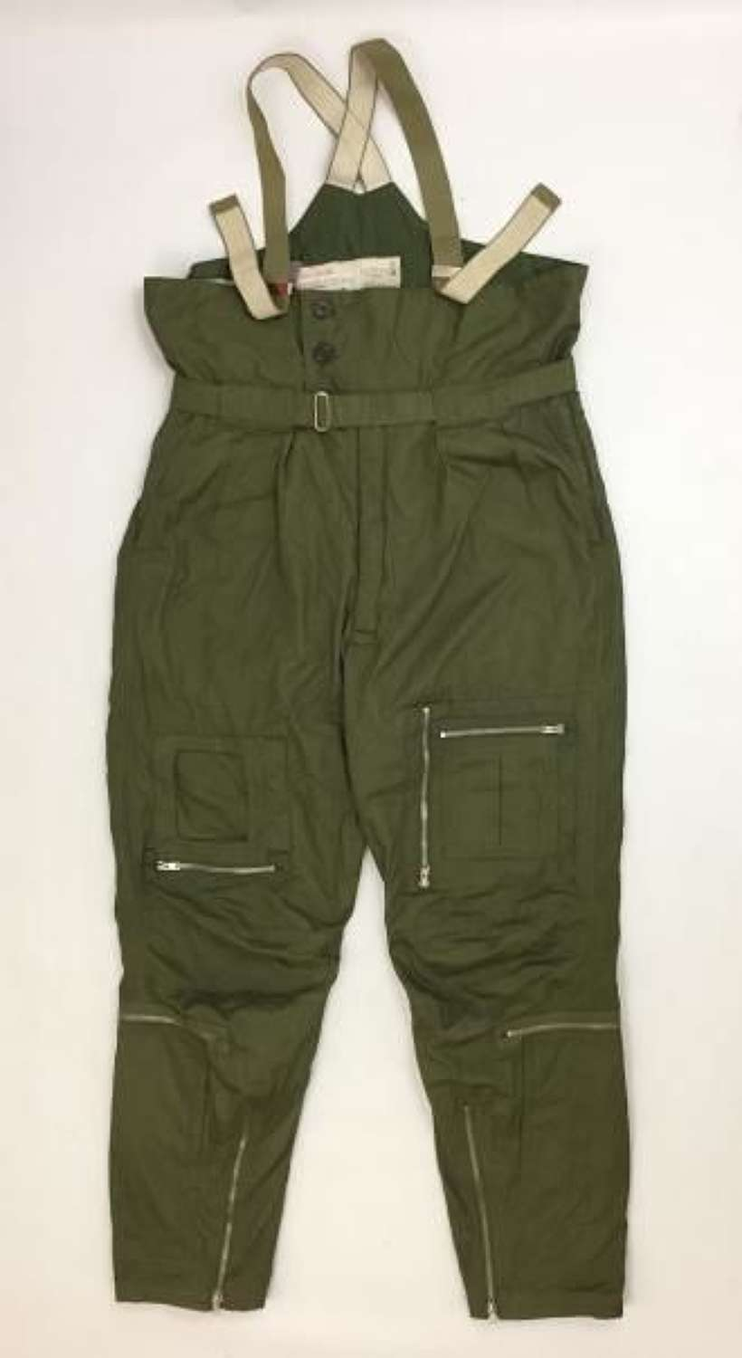 1973 Dated RAF MK 3 Cold Weather Flying Trousers