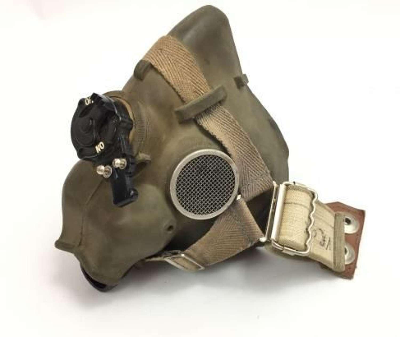 1972 Dated RAF H-Type Oxygen Mask - Size Medium