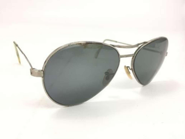 Original RAF MK 14 Sunglasses and Case by 'Algha' + case