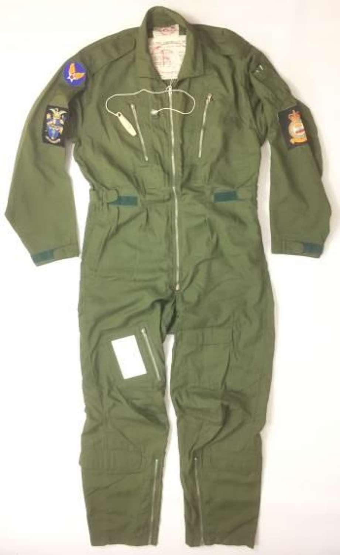 Original 1970 Dated RAF MK 7A Flying Suit (Jungle Green) and Original Box