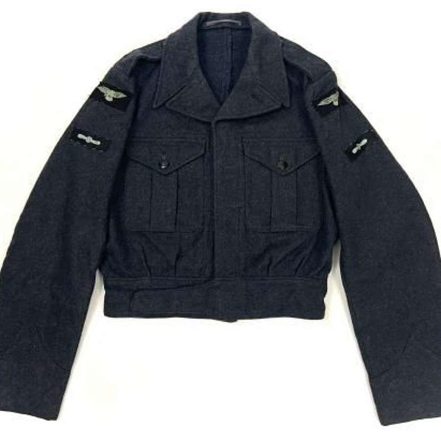Original 1948 Dated RAF War Service Dress Blouse, New Pattern