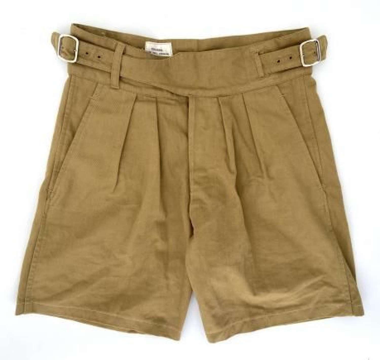 Original 1950 Pattern RAF Khaki Drill Shorts