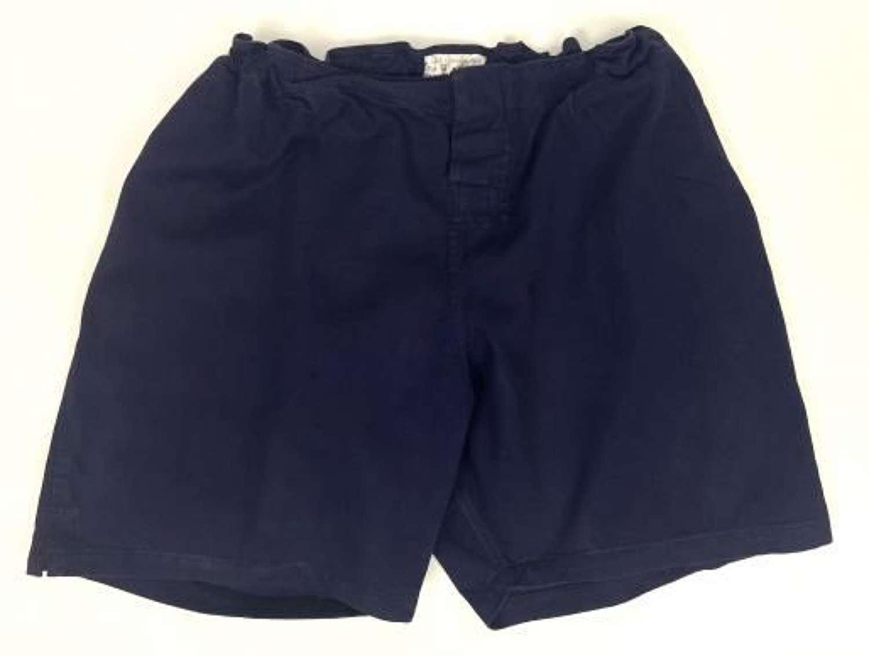 Original 1950 Dated RAF Physical Training Shorts