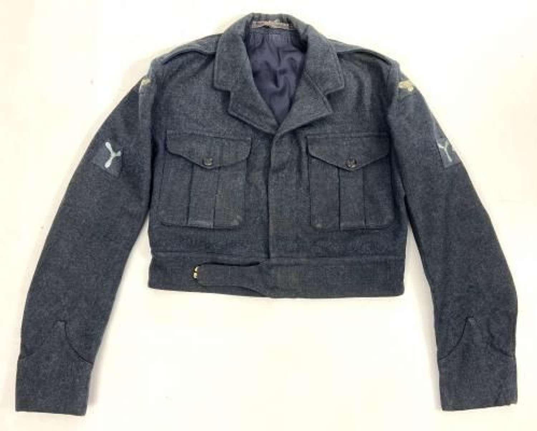 Original 1956 Dated RAF N.P. Battledress Blouse - Size 12