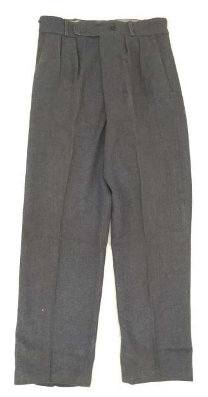 1950 Dated 'War Service Dress Trousers, New Pattern'.