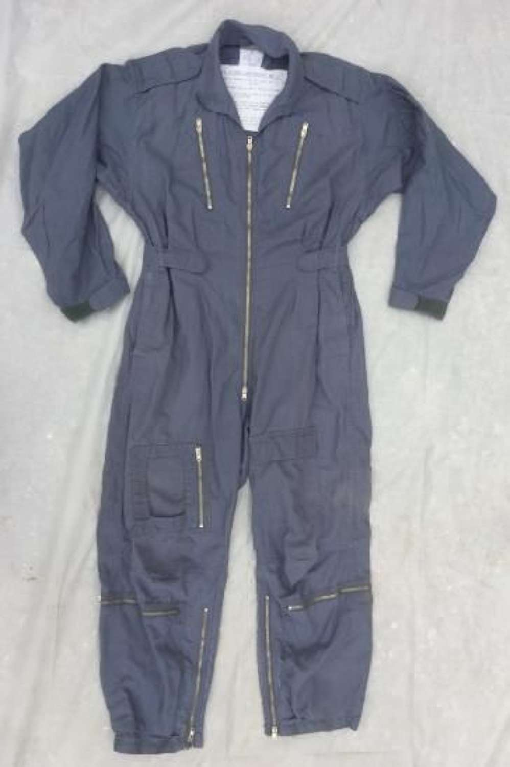 Original Jet Age Mk. 7 RAF Flying Suit - Grey