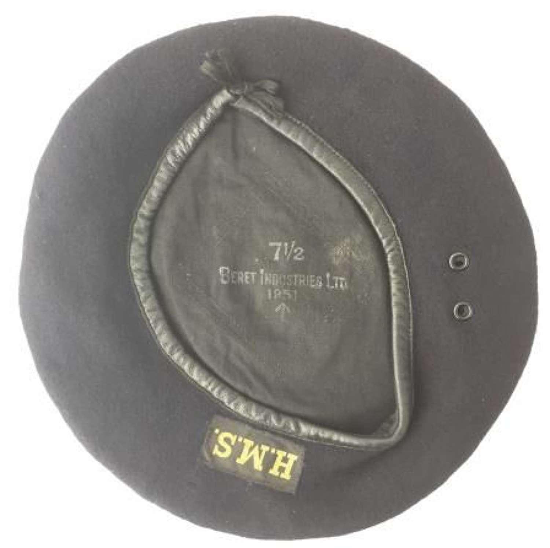 1951 Dated Beret, Working Dress Aircrews - Korean War era Fleet Air Arm Hat