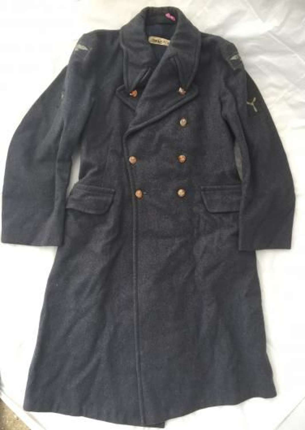 1952 Dated RAF Greatcoat 'Coats Great Other Airman New Pattern'