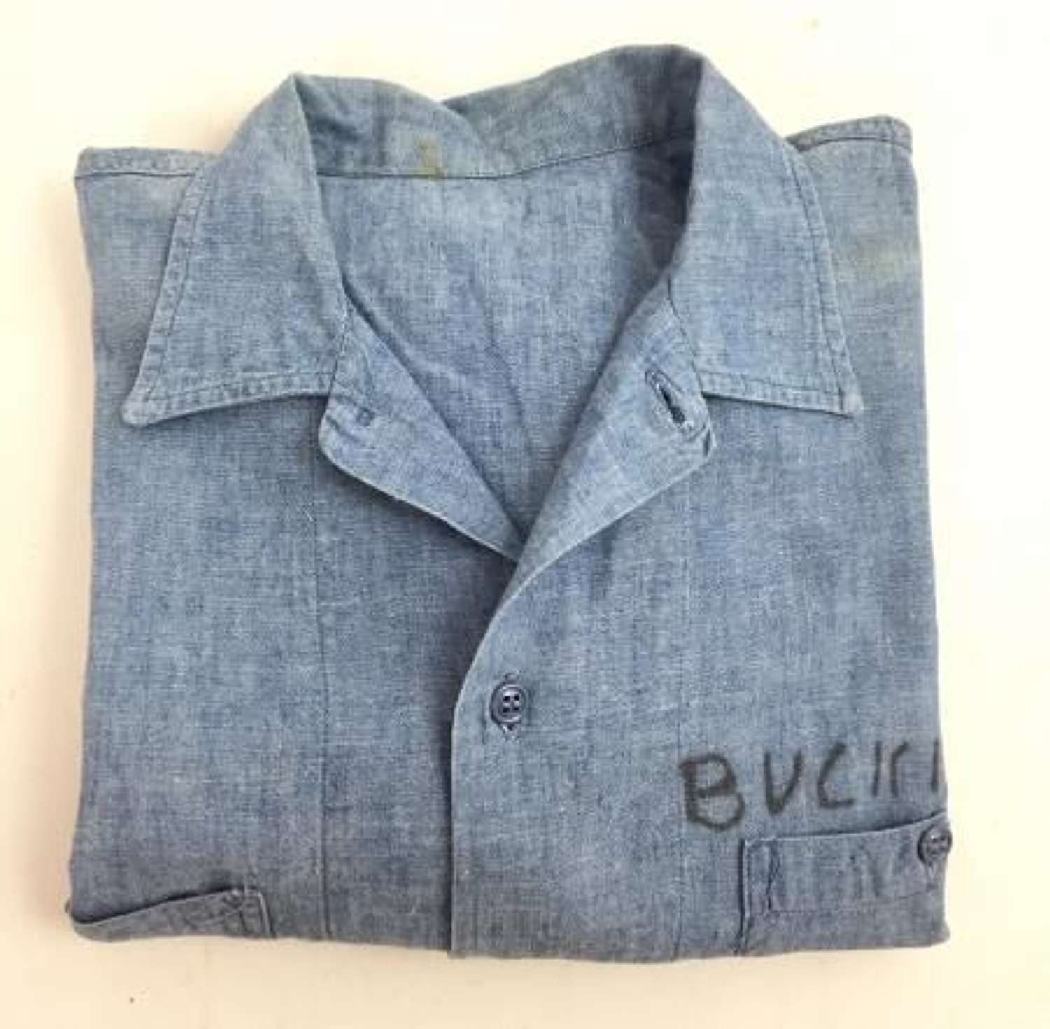 Original US Navy Chambray Shirt (3)