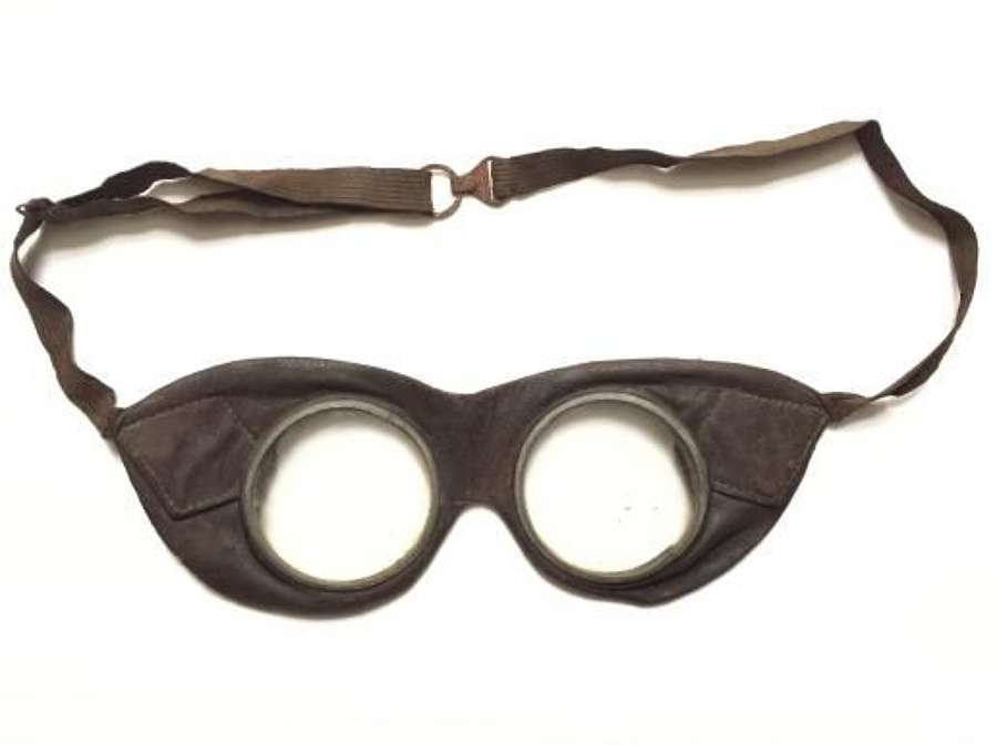 Original WW1 Private Purchase Royal Flying Corps Goggles