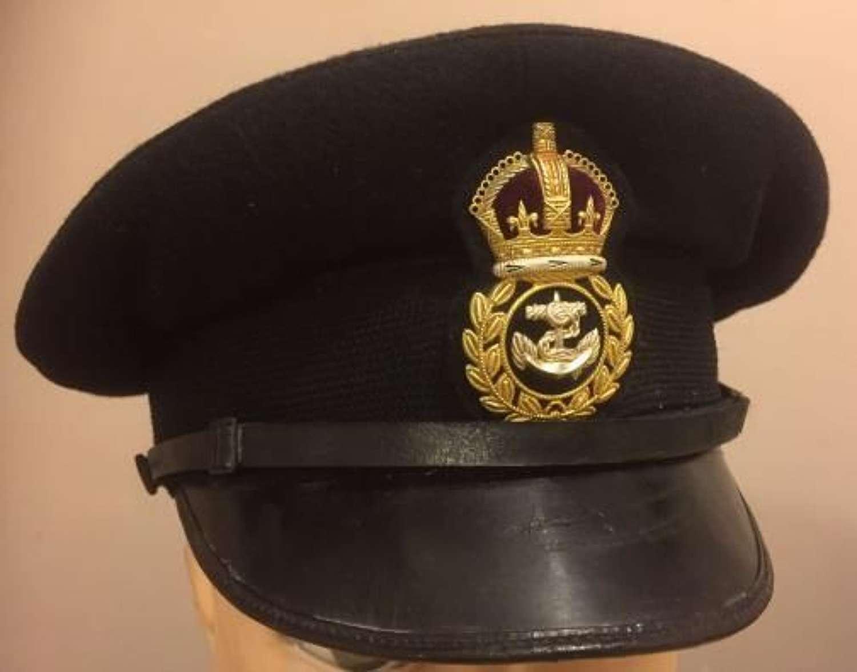 Original WW2 Fleet Air Arm / Royal Navy Chief Petty Officers Peaked Cap (2)